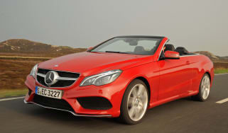 Mercedes E400 Cabriolet front tracking