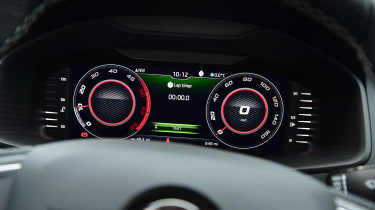 skoda karoq digital dashbaord