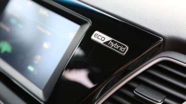 Kia Niro 2016 review - eco badge