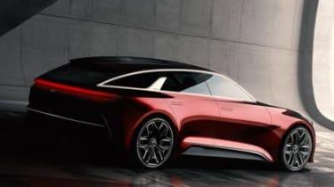 Kia Cee'd concept 2017 - rear