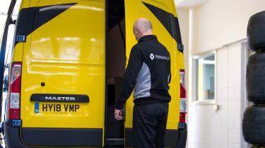 Renault Pro+ vans rear door