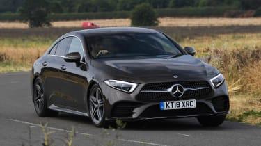Mercedes CLS 350 d - front cornering