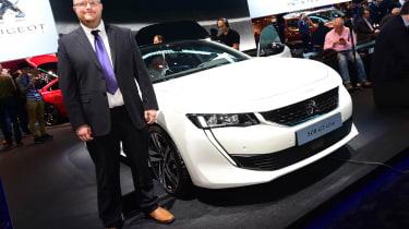 2018 Geneva Motor Show stars - Peugeot 508 Stu Milne