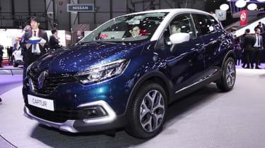 Facelifted Renault Captur Geneva - front
