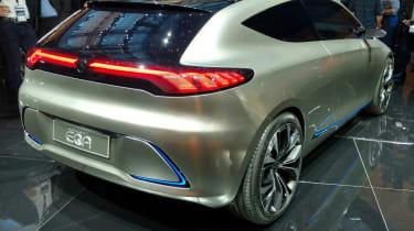 Mercedes EQA concept - Frankfurt rear