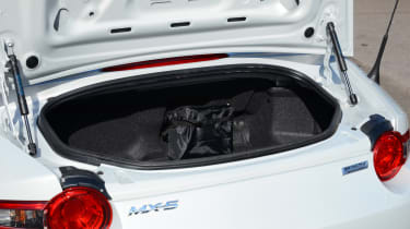 Long-term test review Mazda MX-5 - boot