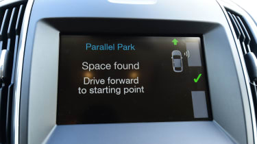 Ford S-MAX - info screen