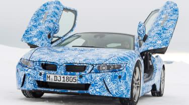 BMW i8 front static