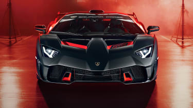 Lamborghini SC18 - full front