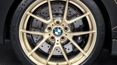 BMW M Performance Parts M2 wheel gold