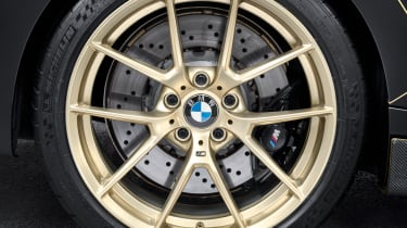BMW M Performance Parts M2 wheel gold
