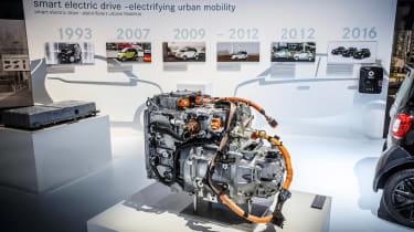 Smart electric drive - engine