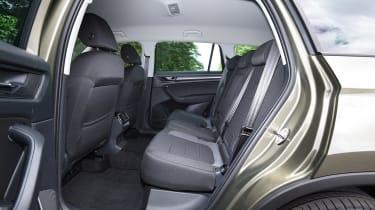 Mazda CX-5 vs Skoda Kodiaq vs VW Tiguan - Skoda Kodiaq rear seats