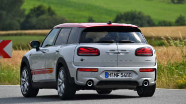 MINI Clubman JCW - rear cornering