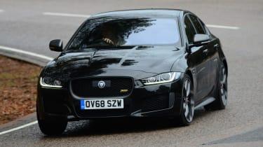 Jaguar XE 300 Sport - front cornering