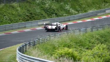 Porsche 919 Evo - rear