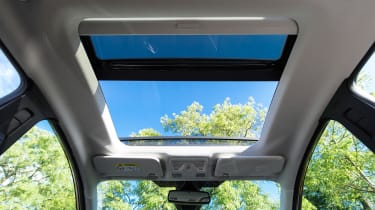 Ford Fiesta diesel review - glass roof