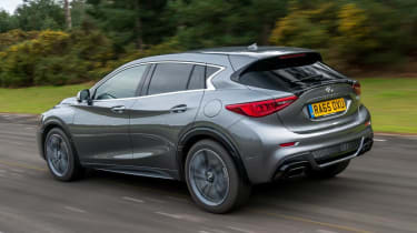 Used Infinti Q30 - rear action