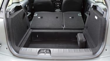 MINI Cooper Black Clubman - boot seats down