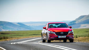 New Mazda 6 2018 facelift review nose