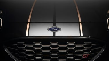 Fan-designed Ford Puma ST Gold Edition - grille