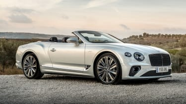Bentley Continental GT Speed Convertible - front static