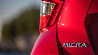Nissan Micra 2017 petrol - badge