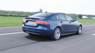 Jaguar XE Long term test - rear