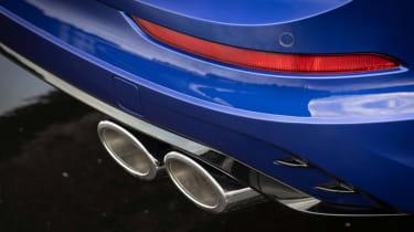 Volkswagen Golf R Estate - exhausts