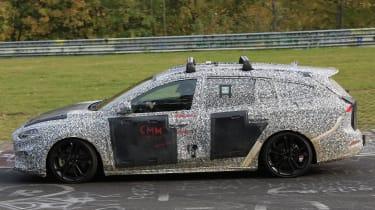Ford Focus Estate Nurburgring side