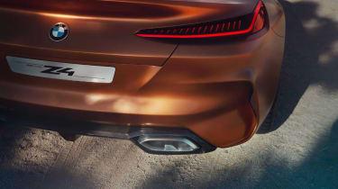 BMW Concept Z4 leaked - rear detail