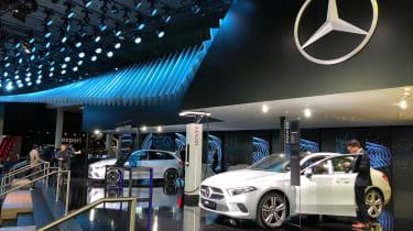 Mercedes stand - Frankfurt Motor Show 2019