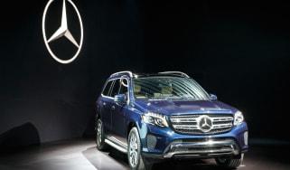 Mercedes GLS SUV LA Show reveal