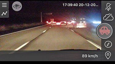 Dash cam app product test camonroad