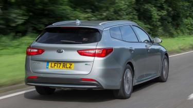 Kia Optima Sportswagon PHEV - rear