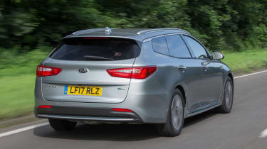 Kia Optima Sportswagon PHEV - rear