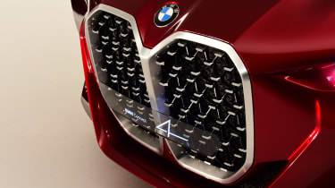 BMW Concept 4 Series - grille detail