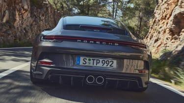 Porsche 911 GT3 Touring - full rear