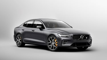 Volvo S60 Polestar Engineered - front studio
