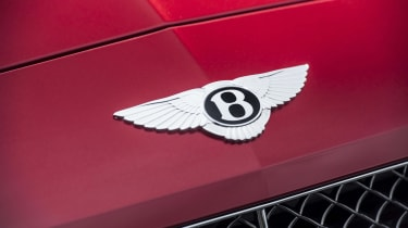 Bentley Contintental GT Speed 2015 badge