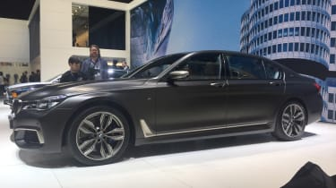BMW M760Li Geneva - front three quarter