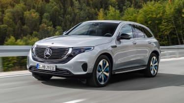 Mercedes EQC - front