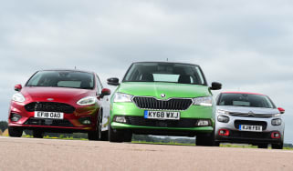 Skoda Fabia vs Ford Fiesta vs Citroen C3 - Header