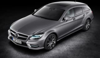 Mercedes CLS Shooting Brake front three-quarters
