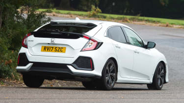 Honda Civic long-term review - Civic rear