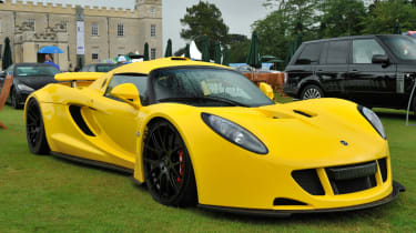 Fastest production cars in the world - Hennessey Venom
