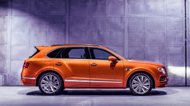 Bentley Bentayga Speed - side