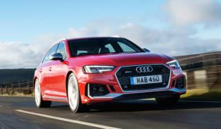 Audi RS 4 Avant - front