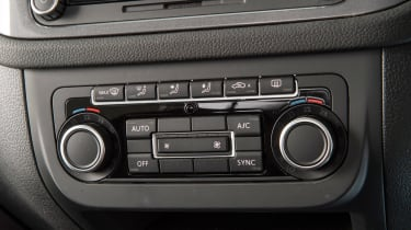 Used Volkswagen Tiguan - centre console