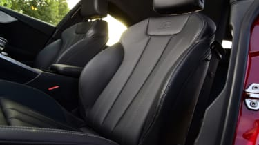 Twin test - Audi A5 - front seats